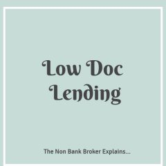 Low Doc Home Loans Available For Self Employed